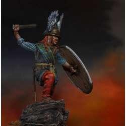 Figurine de guerrier Celte 75mm résine Mercury Models.