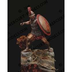 Figurine de Macédonien du IV-Veme siècle avant JC EN 75mm résine.