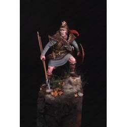 Figurine de guerrier loup des Pyrénées en 75mm Mercury Models.