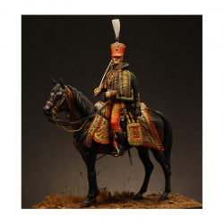 Figurine du Général Fournier Serlovèse en résine  75mm.