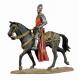Figurine de chevalier du XIVeme siècle 54mm.