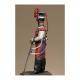 Figurine de Lancier de la garde Impériale 1856 - 1870 Metal Modeles.