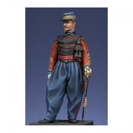 Figurine de Capitaine de spahis 54mm Metal Modeles.