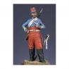 Figurine de Brigadier des chasseurs d'Afrique - Crimée 1854 Metal Modeles.