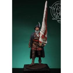 Figurine de soldat de fin XVIeme siècle 54mm.
