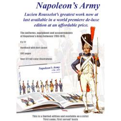 L'armée de Napoleon par Lucien Rousselot en Anglais.