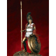 Figurine 54mm d'hoplite grec V-VI eme siècle avant JC.