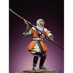 Figurine de guerrier Japonais XIIeme siècle Romeo Models.