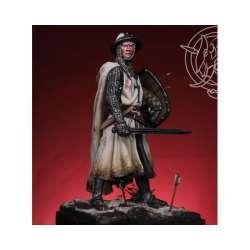 Figurine de chevalier teutonique XIIIeme siècle 54mm.