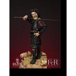 Figurine de Lansquenet, 1525 FER Miniatures 54mm.
