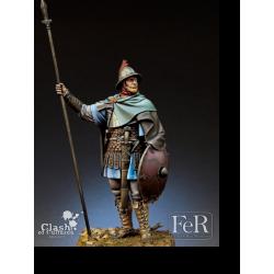 Figurine de cavalier carolingien en 850 FER Miniatures 75mm.