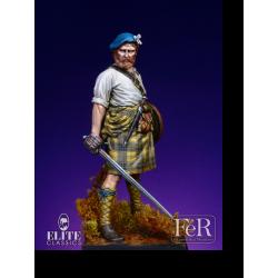Figurine de highlander FeR Miniatures 75mm.