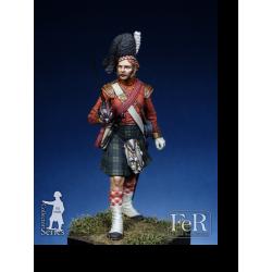 FeR Miniatures Officer, 93rd RegimentSutherland Highlanders, 1854. 54mm.