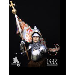 Buste de Jeanne D'Arc  en 1429 FeR Miniatures 1/12ème.
