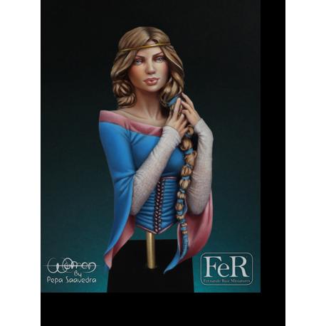 Buste de Rosamund au 1/12éme FeR Miniatures.