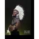 Buste FeR Miniatures de Sioux ChiefLittle Big Horn, 1876 1/12éme.