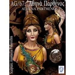 Buste d'Athenà en résine 200mm Alexandros Models.