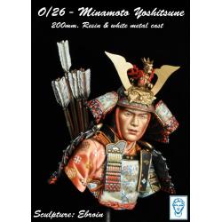 Buste de MINAMOTO YOSHITSUNE 200mm Alexandros Models.