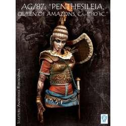 "Buste de PENTHESILEIA, QUEEN OF AMAZONS"", Trojan War, Ca. 1180 bC 200mm Alexandros Models."
