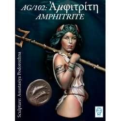 Buste d'AMPHITRITE en résine 200mm Alexandros Models.