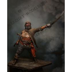 Figurine de pirate en 75mm Mercury Models.
