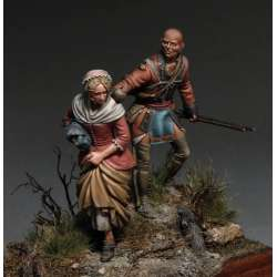 La Captive en résine 54mm Tartar Miniatures.
