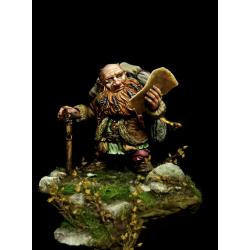 Dwarf Treasure Hunter par Tartar Miniatures 75mm.