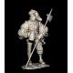 Lansquenet du XVIeme siècle 75mm résine Tartar Miniatures.