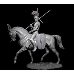 Figurine 80mm de guerrier Samnit IVeme siècle avant JC.