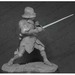 Figurine de chevalier du XVeme siècle 75mm Mercury Models.