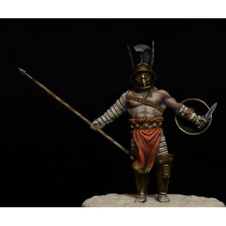 Figurine de gladiateur Gopolomah 75mm Mercury Models.