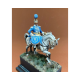 Figurine de Timbalier du 2ème Rgt de Carabiniers Metal Modeles 54mm.