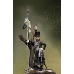 Figurine d'officier de lancier Bosniaque, Prusse 1762.