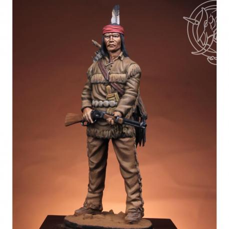 Figurine de guerrier Navarro en 1883 Romeo Models 54mm.
