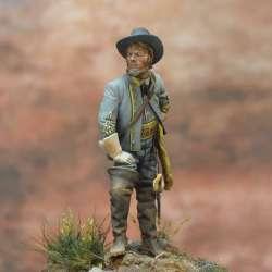 Figuirne de général de cavalerie confédéré en 1863 Art Girona 54mm.
