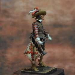 La Guerre de Trente Ans, 1618-1648. Trompette d'un Régiment de Cavalerie Espagnol Art Girona.