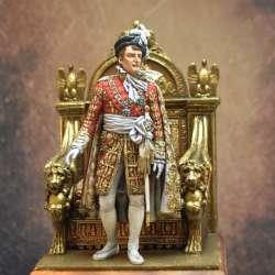 Figurine de Napoléon en 1810 Art Girona 75mm.