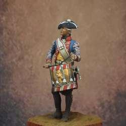 Drummer, Leib Infantry Regiment Hesse-Kassel, America 1776-1783 Art Girona.