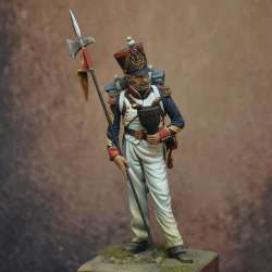 Figurine de porte aigle en 75mm Art Girona.