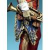 Napoleonic figure kits.Trumpeteer Major of 2nd Lanciers Guard, France, 1811-13.