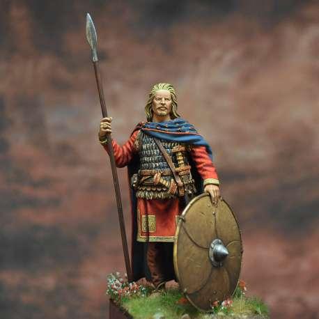 Childericus. King of the Salian Franks, 458-481 Art Girona 54mm.