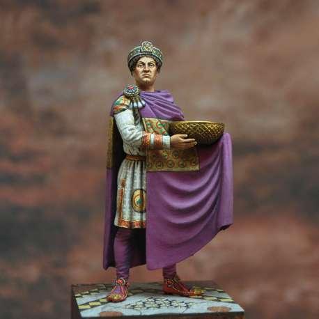 Justinian 'the Great'. Byzantine Emperor, 527-565 Art Girona 54mm.