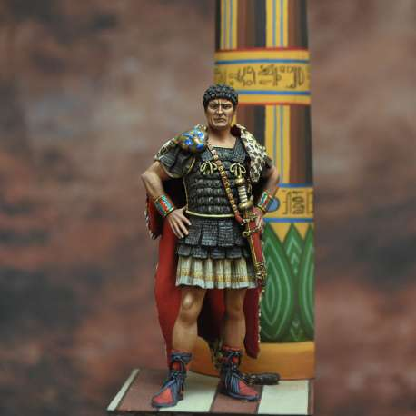 Marcus Antonius. Roman politician and general, 83bC – 30bC Art Girona 54mm.