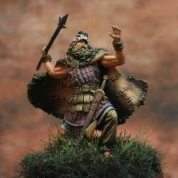 Cuchulain or Cú Chulainn, Irish Mythological Hero Art Girona 54mm.