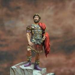 Publius Aelius Traianus Hadrianus Augustus, Roman Emperor, 76-138 a.C. Art Girona 54mm.
