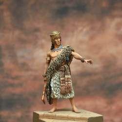 Patesi Gudea of Lagash, Sumerian King, III dinasty of Ur, 2175 b.C. Art Girona 54mm.