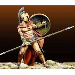 Figurine de Leonidas en 480 avant JC Masterclass 54mm.