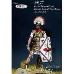 Figurine de Lucius Battiatus Velus – Centurio Legio IV Macedonica – 1er siècle avant JC 54mm.