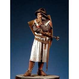 Pegaso models.54mm figure kits. The last Templar 1307.