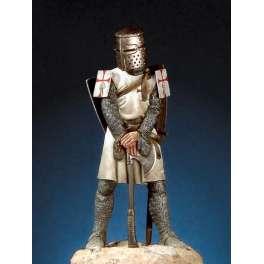 Pegaso models.54mm figure kits,Templar Knight 1270-91